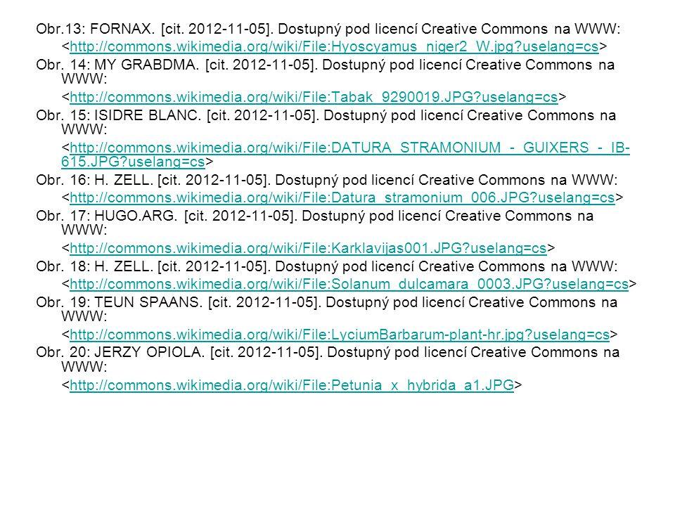 Obr.13: FORNAX. [cit. 2012-11-05]. Dostupný pod licencí Creative Commons na WWW: